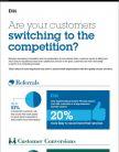Stappen uw klanten over naar de concurrent? Zorg ervoor dat uw service hun verwachtingen overtreft
