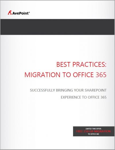 Best Practices: Migratie naar Office 365