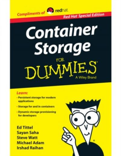 Container storage voor dummies