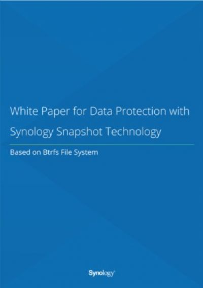 Data Protectie met Synology Snapshot Technologie