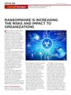Ransomware verhoogt de risico's en impact op organisaties