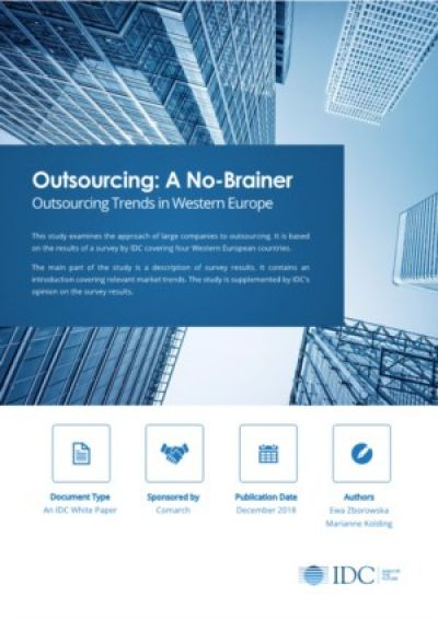 Outsourcing Trends in West-Europa
