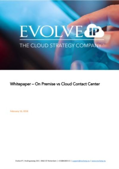 On Premise vs Cloud Contact Center