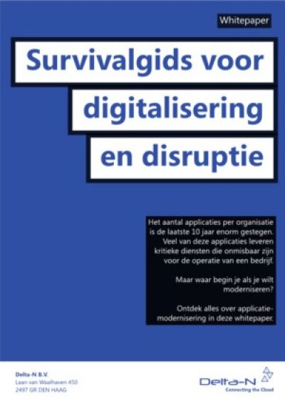 De survivalgids voor digitalisering en disruptie
