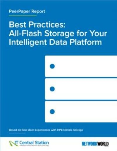 Best practices: Hoe All-Flash opslag zorgt voor een intelligent data platform