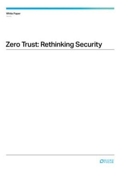 Zero Trust: Heroverweging van de security