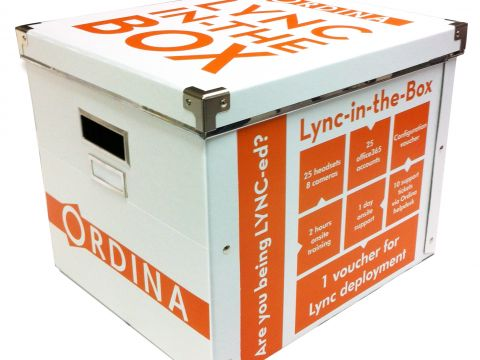 Ordina lanceert Lync-in-the-Box