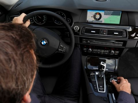 BMW ConnectedDrive hotspot
