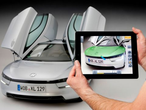 Volkswagen Marta, het Mobile Augmented Reality Technical Assistance-systeem