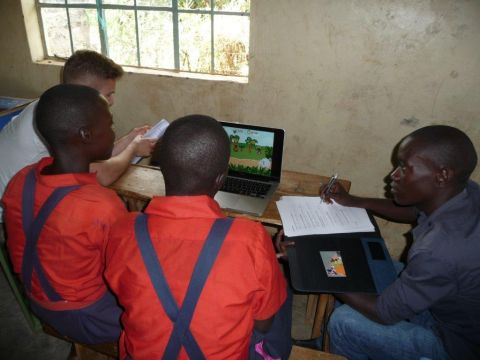 Hanzehogeschool test computergames in Kenia