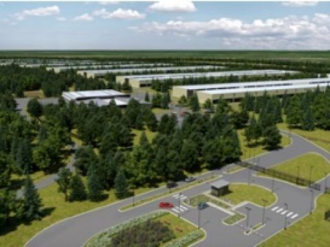 Apple-datacenter Athenry artic impression