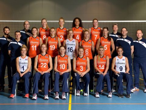 Dames volleybalteam