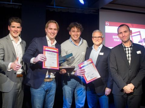 Entrepreneur Team Award 2015
