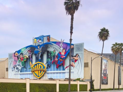 Warner Bros Movie Studio in Los Angeles