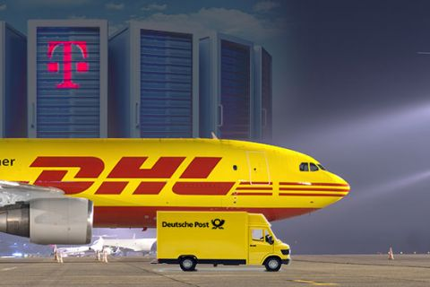 Nieuwe deal Deutsche Post DHL en T-Systems