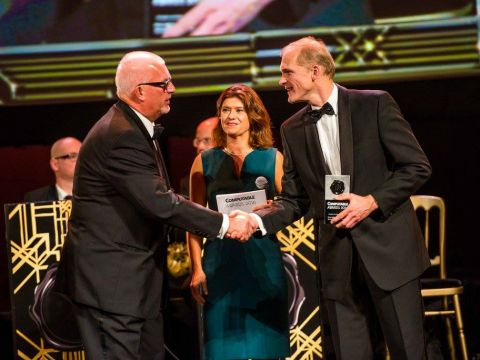Computable Awards 2016, winnaar DHL Parcel Benelux