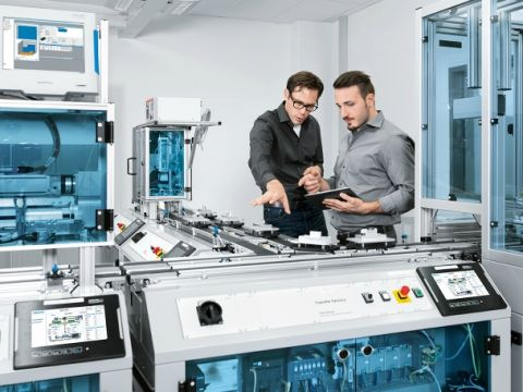 Exact en Festo openen digitale testfabriek