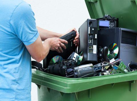 Inzameling ict-afval stijgt tot 10 miljoen kilo