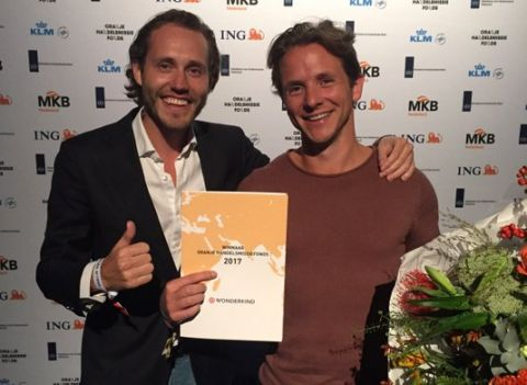 Wonderkind-ceo's Laurent Scholten en Lars Wetemans winnen Oranje Handelsmissiefonds