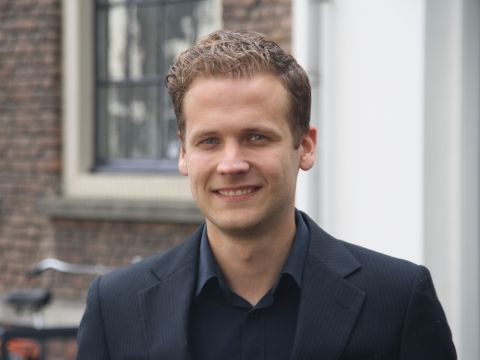 Alexander Schram, manager Data Science bij Remiqz