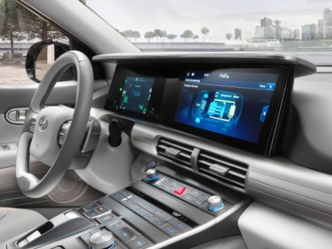 Infotainment auto connected car
