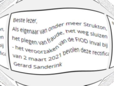 Sanderink rectificeert beschuldigingen aan ex, bron: Computable.nl