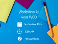Workshop AI voor WOB verzoeken