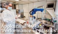 Appkuns al 40 jaar 'Performance in plastics'