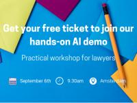 Hands-on AI Demo voor advocaten - 6 september
