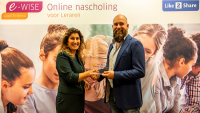 E-WISE wint Like2Share Startup Award