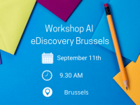 Hands-on AI Workshop for all legal professionals Brussels