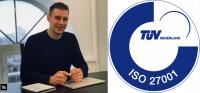 ISO 27001: Moqod software ontwikkeling ontving een certificaat