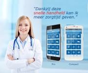 Deze smartphones ondersteunen het zorgproces